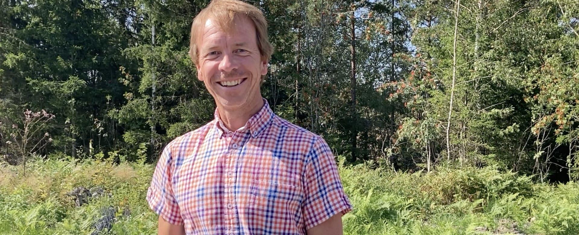 Hans Magnus Lutnæs er prosjektutvikler i Solid Prosjekt