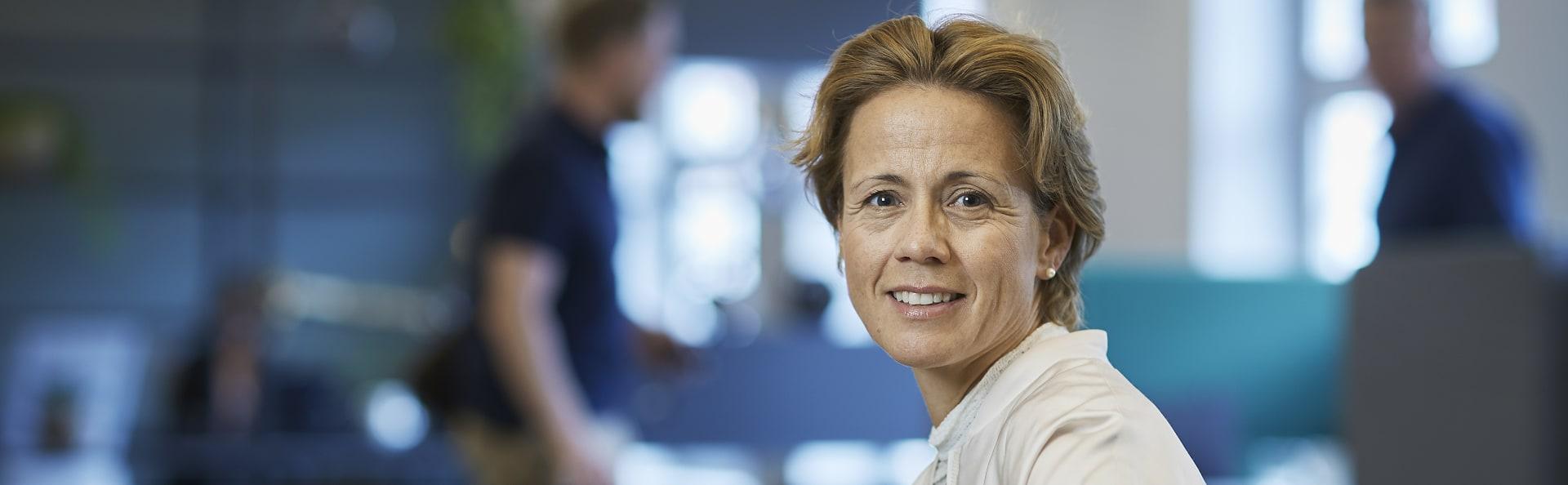 Lise Klevan Dybwad er leder for Workplace Strategy i CBRE Norge