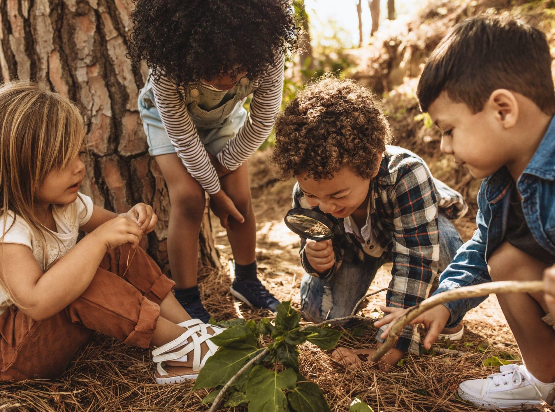 Nordre Skøyen barnehage ligger i naturskjønne omgivelser