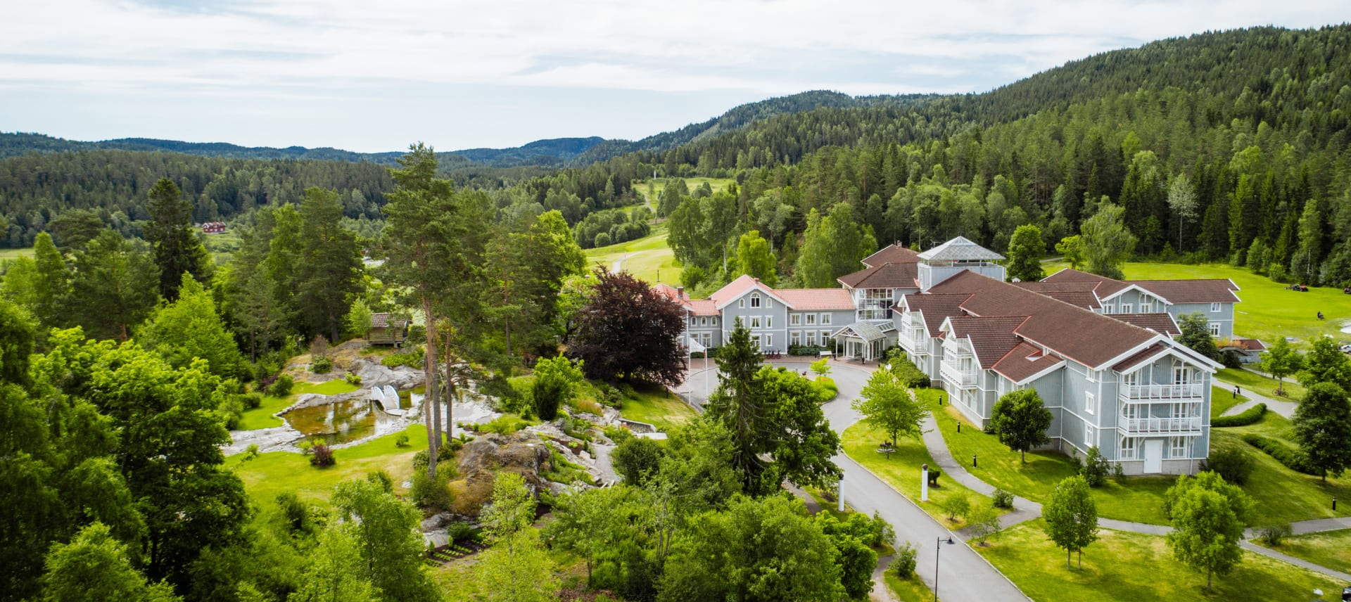 Hotell, konferanse og 18-hullsgolfbane