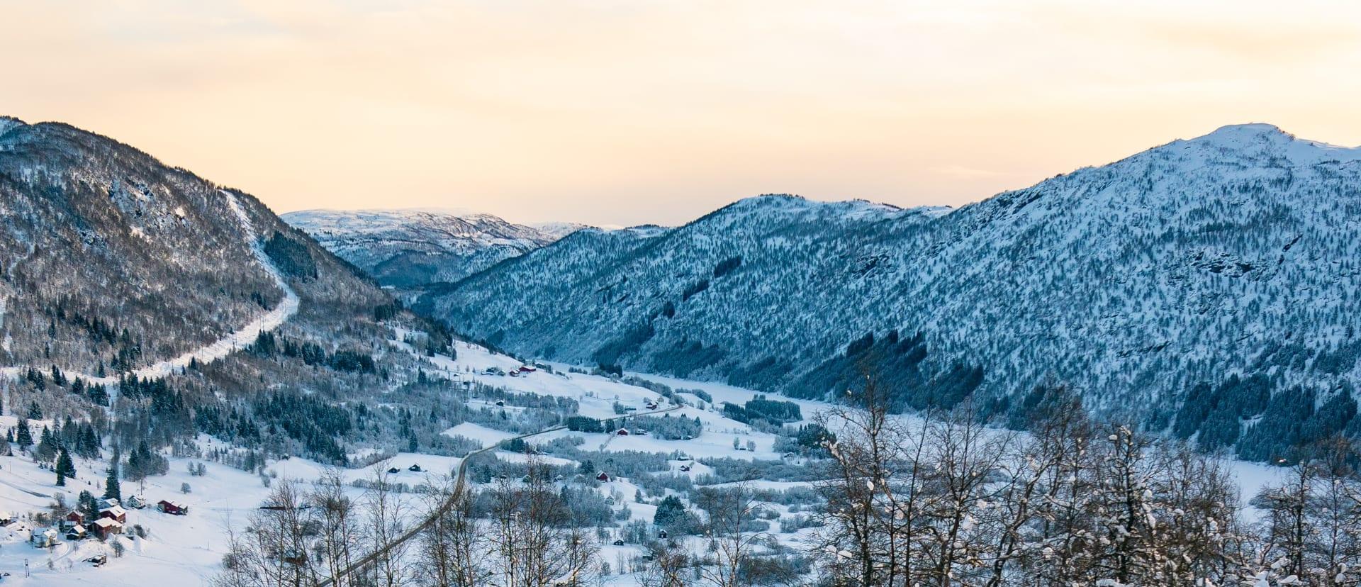 Utsikt fra Geitasteinane