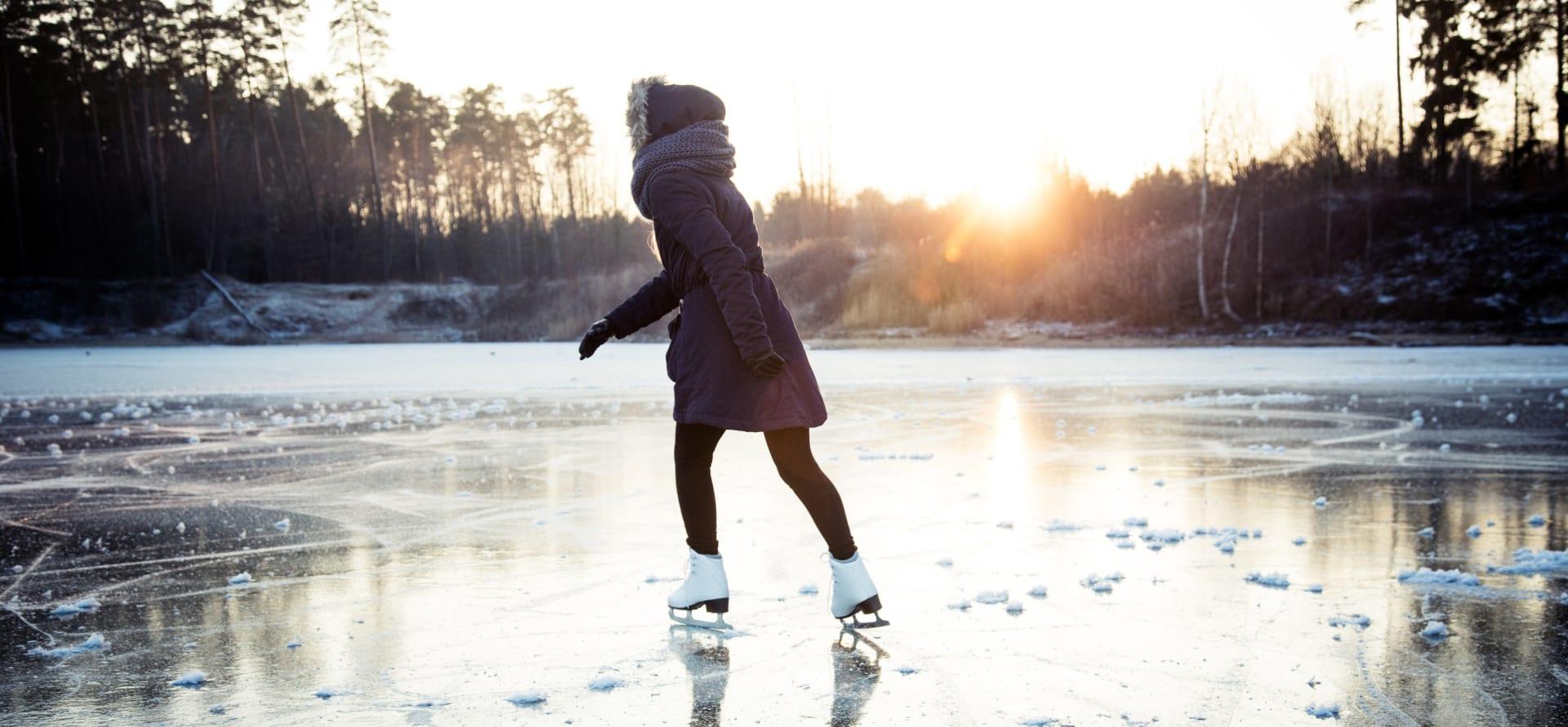 Også vinteren er det ting å finne på når frosten har kommet.