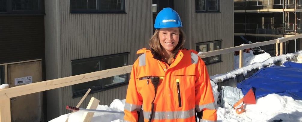 Første rolle til Lene er å være trainee på et byggeprosjekt. Hun bistår Rønningen bolig prosjektet i Oslo som prosjektingeniør.