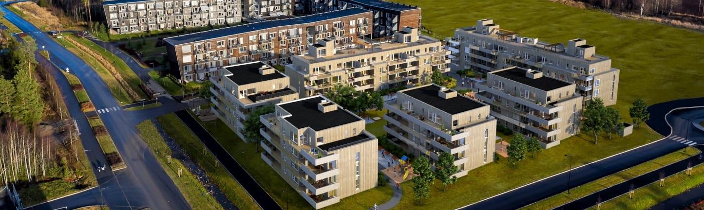 Easy Living Jessheim er et boligprosjekt fra Solid Prosjekt