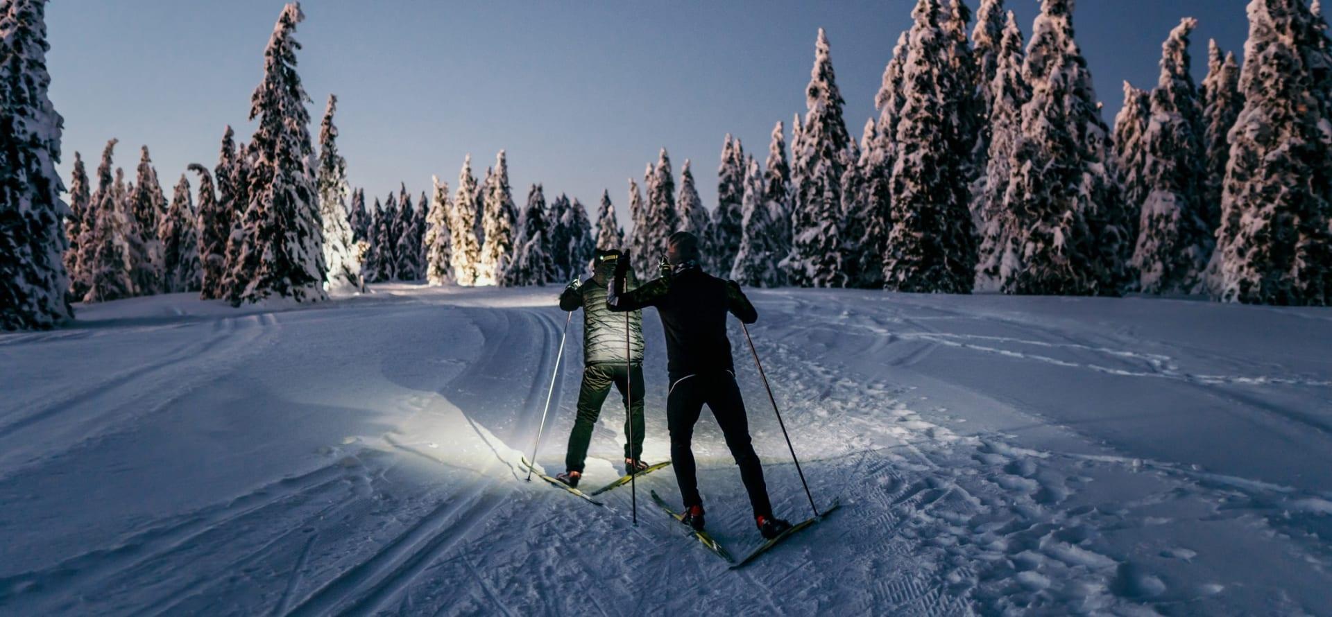 Når alt er rett i nærheten, kan du ta skiene fatt akkurat når det passer deg.