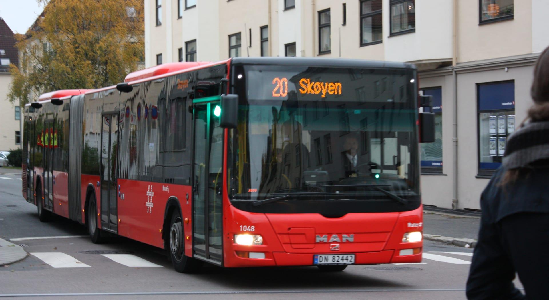 En bussulykke kan gi store erstatningskrav.