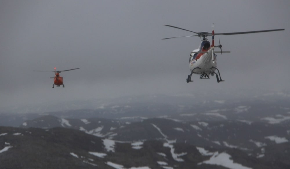 Helikopterulykken på Turøy krevde 13 menneskeliv.