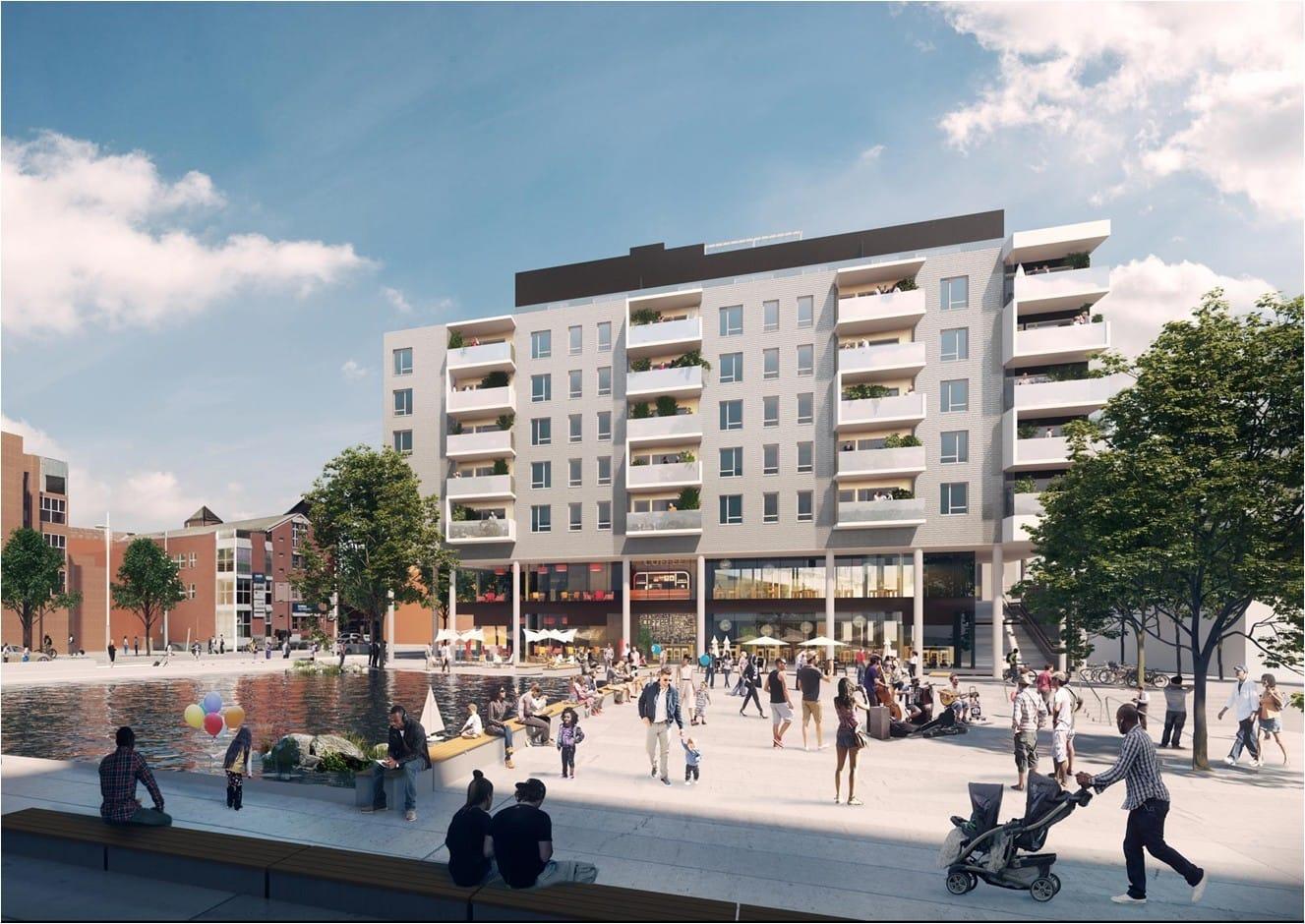 Lokalene blir så sentralt som mulig på Ensjø, kun 20 meter fra t-banen
