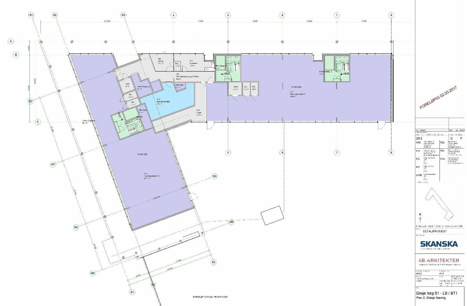 Det er 2 ledige lokaler som kan leies separat eller samlet.