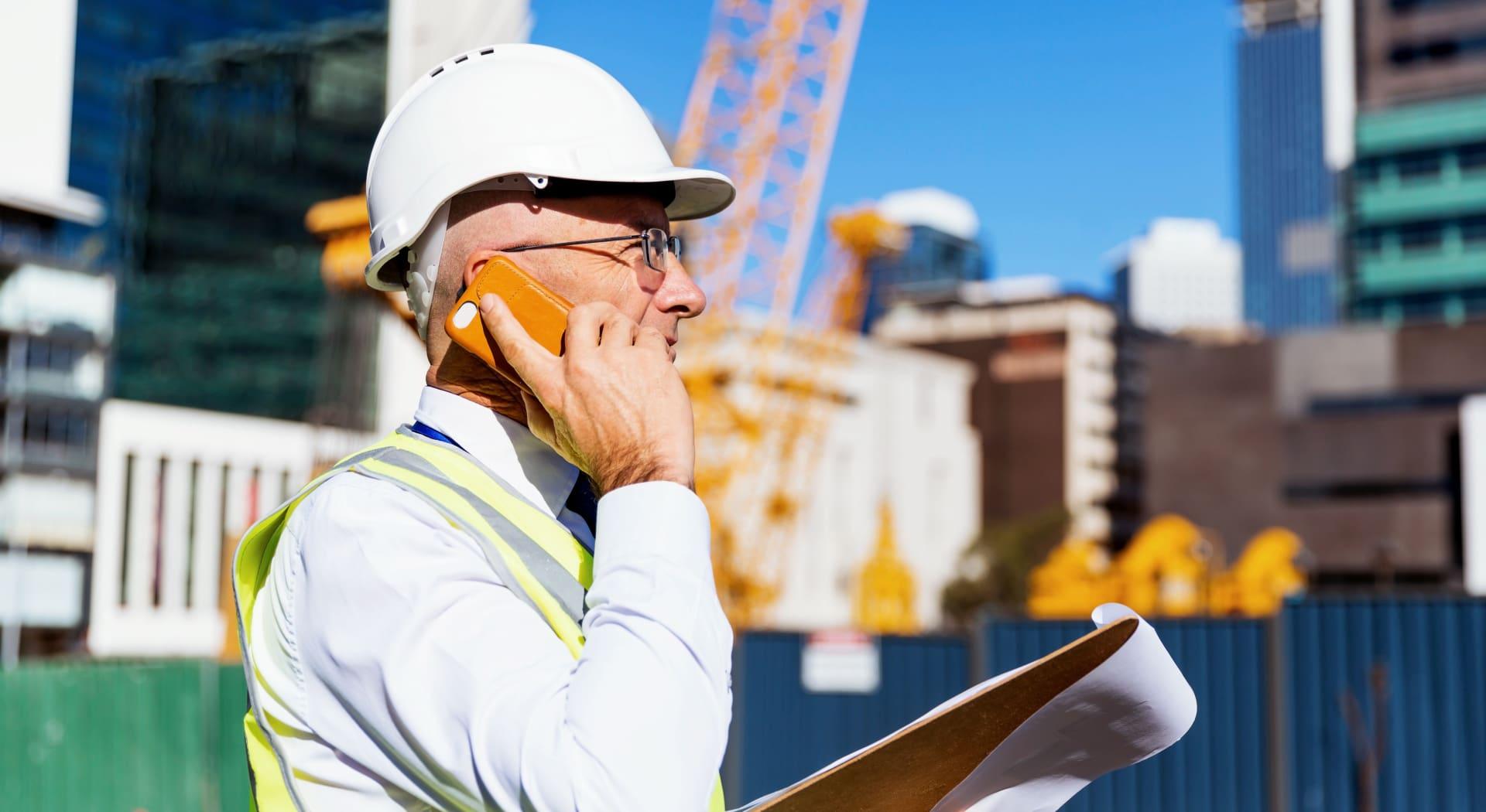 Arbeidsulykker og sikkerhet er i fokus når Arbeidstilsynet aksjonerer på byggeplassene.