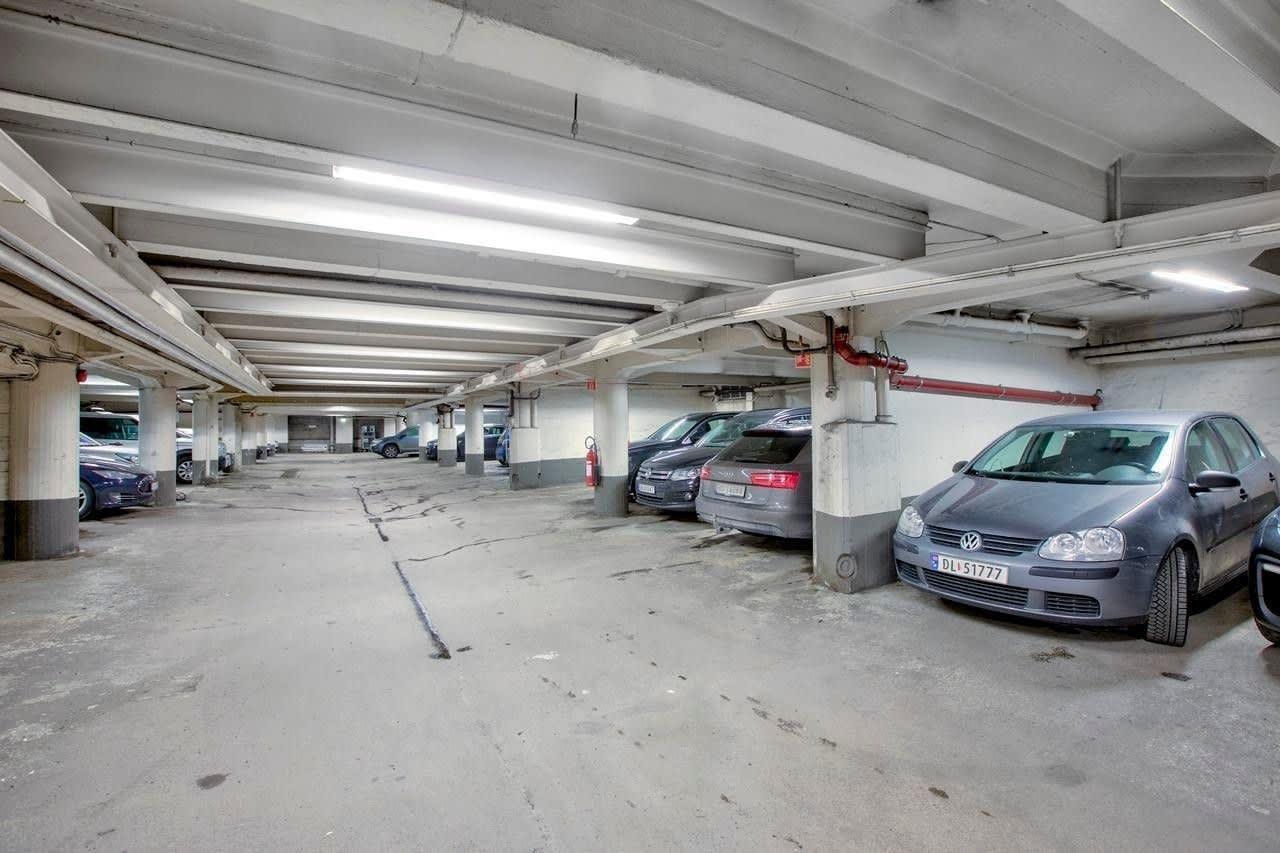 Garasjen med 39 p-plasser