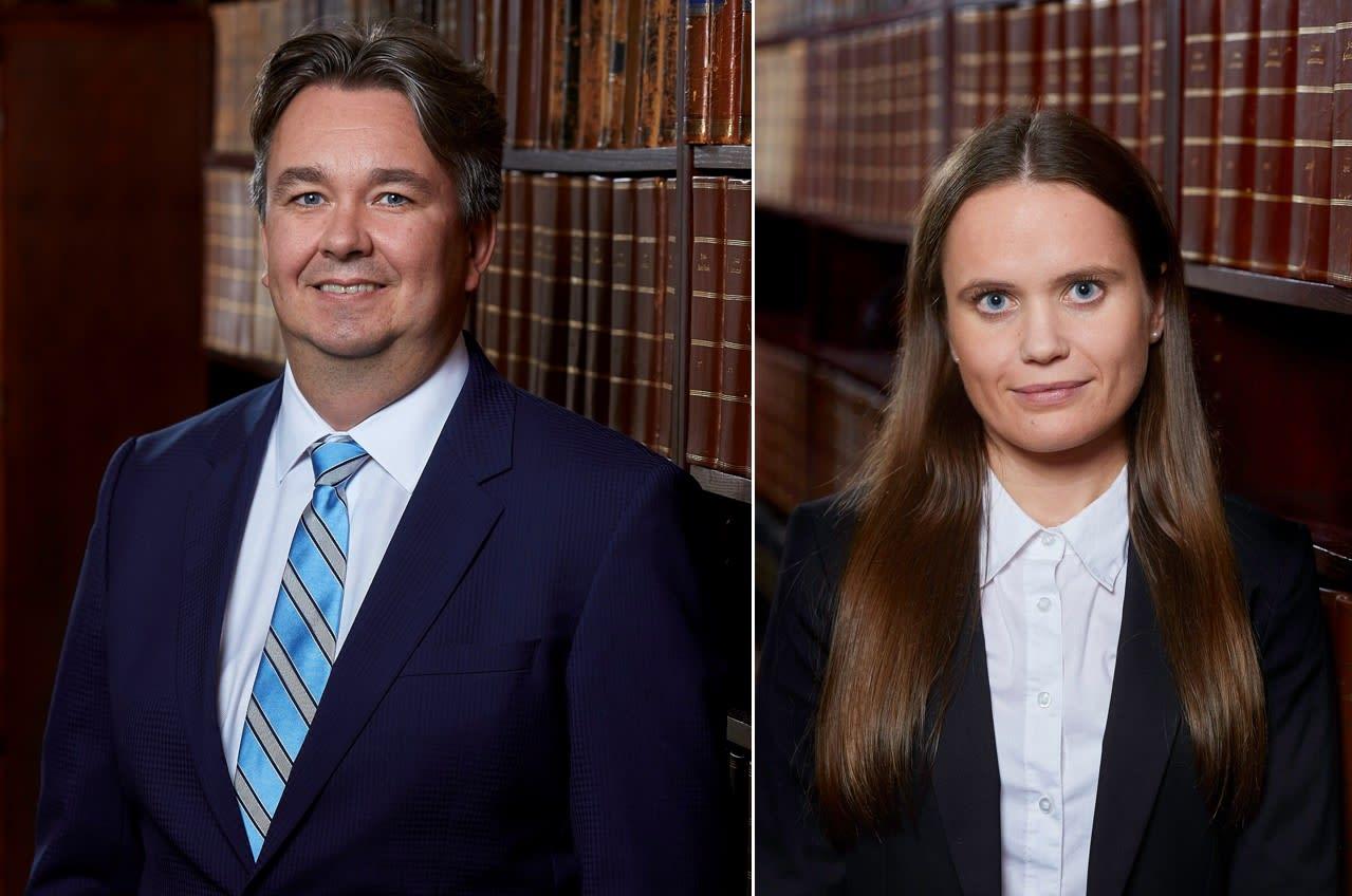 VANT FREM: Advokat Thorsteinn J. Skansbo var prosessfullmektig i saken ved advokatfullmektig Ida Elisabeth Alnes Holte.