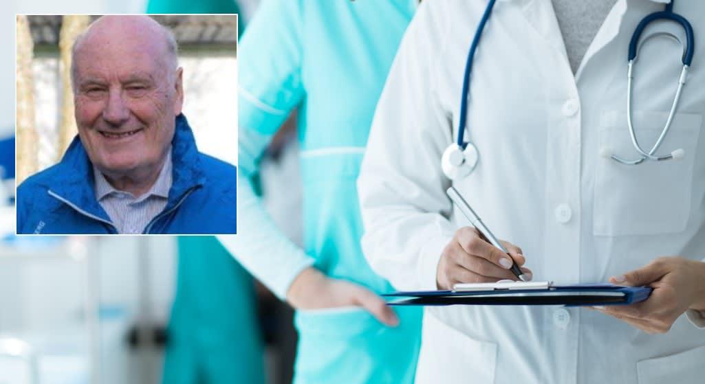 ERFAREN LEGE: Jan Otto Syvertsen, spesialist i allmennmedisin og arbeidsmedisin og pensjonert fastlege og kommuneoverlege har sett mange pasienter med aggressiv prostatakreft. Han mener at tidlig oppdagelse og behandling vil redde liv.