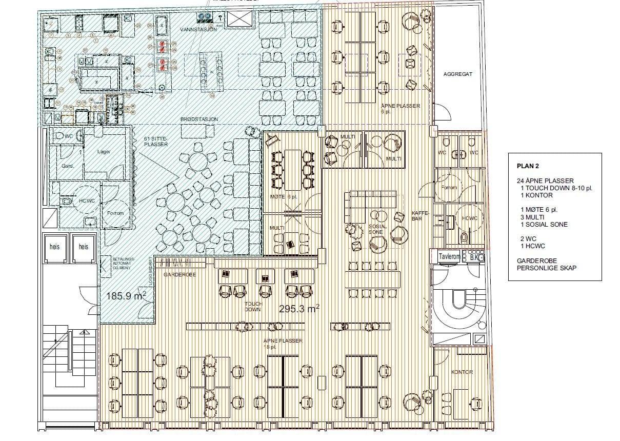 Planløsning 2 etasje