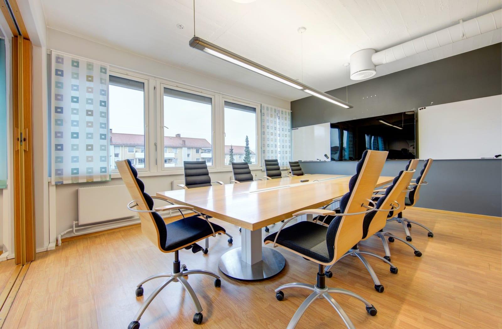 Gode møteromsfasiliteter