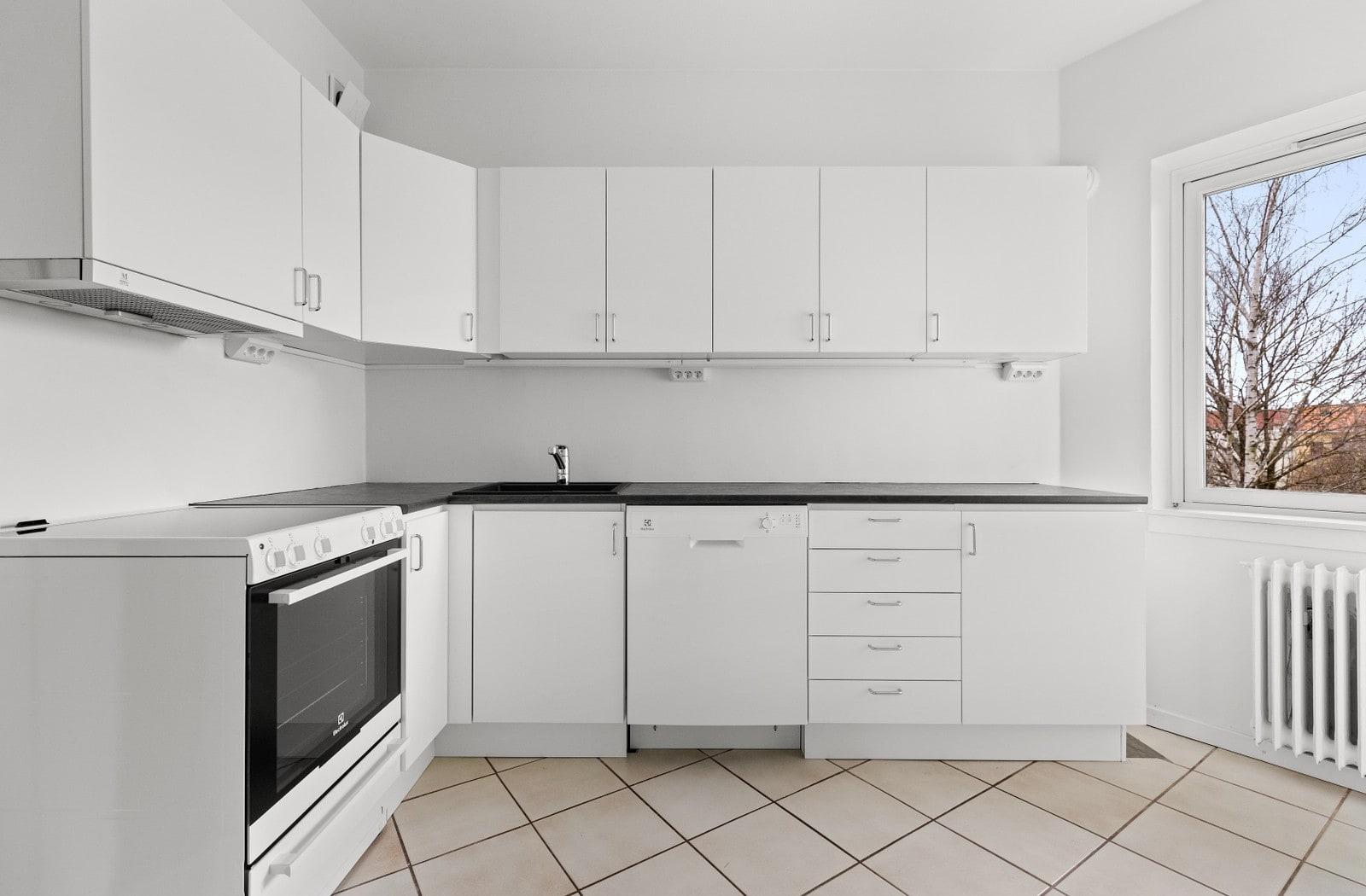 Nytt kjøkken med alle hvitevarer inkludert!