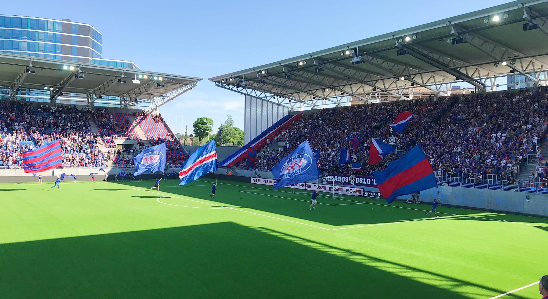 Intility Arena - Vålerengas hjemmebane Foto:  vif-fotball.no