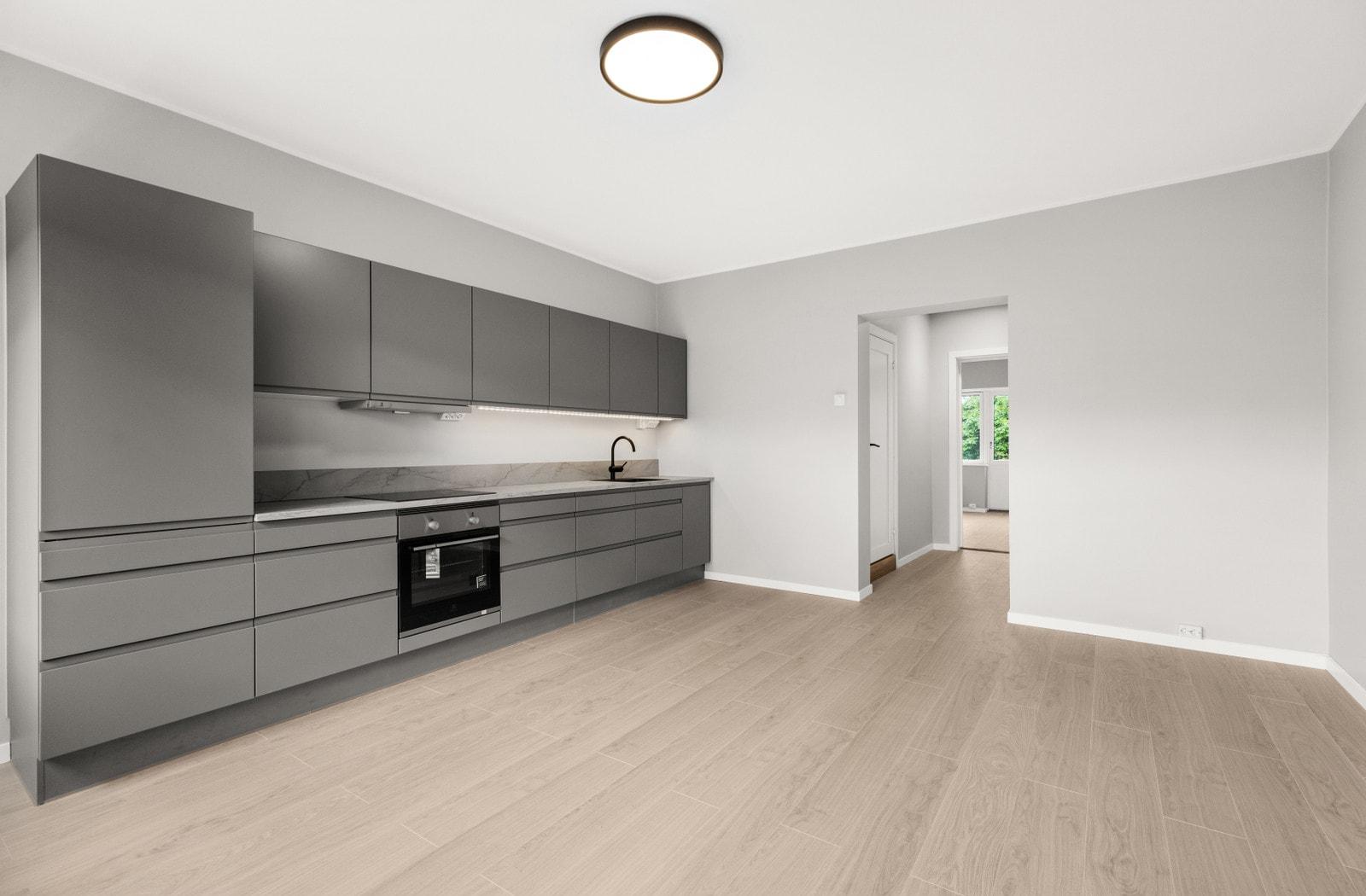 Kjøkken/stue (Bilder av tilsvarende leilighet i 5 etasje)
