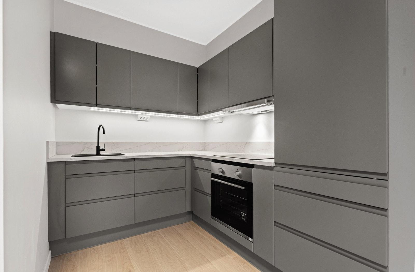 Kjøkken (bilder av lik leilighet i 5 etasje)