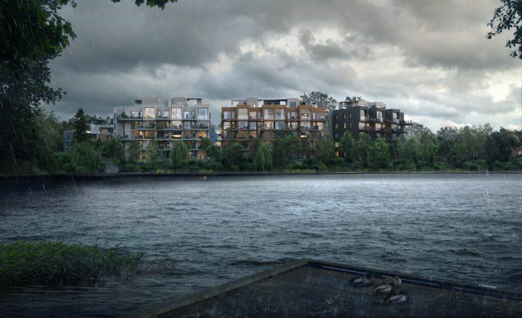 Veslebukta i Kolbotn er det første BREEAM-sertifiserte prosjektet som Solid skal bygge