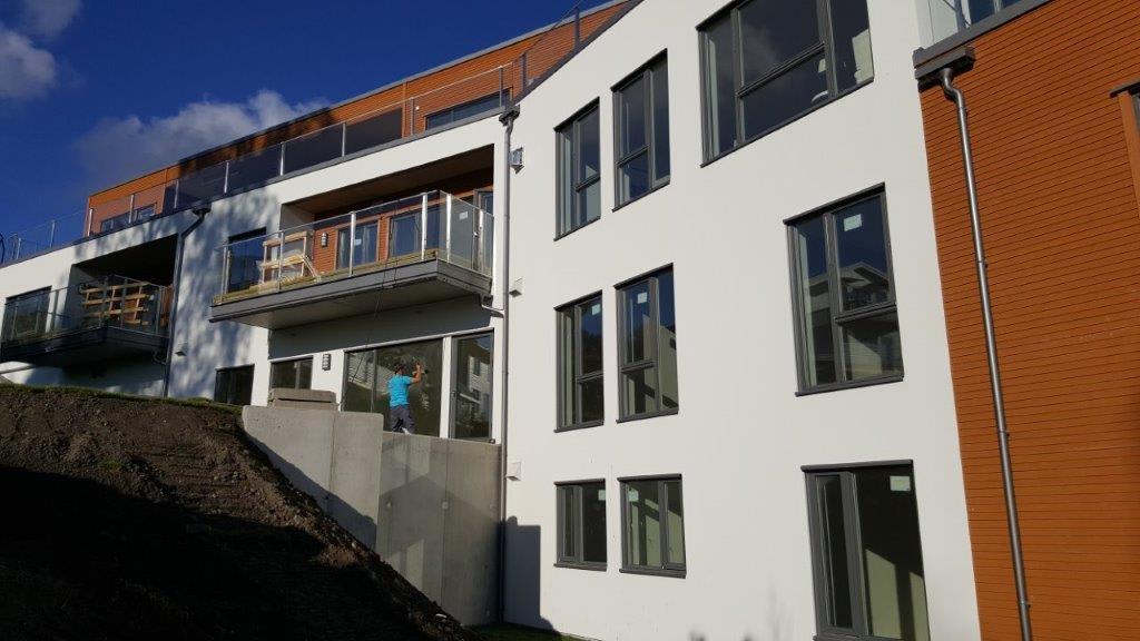 På prosjektet Nøste Panorama i Lier ble Thermomur 350 brukt. Prosjektet utløste ønske om heving av brannklassen fra brannklasse 1 til brannklasse 2.