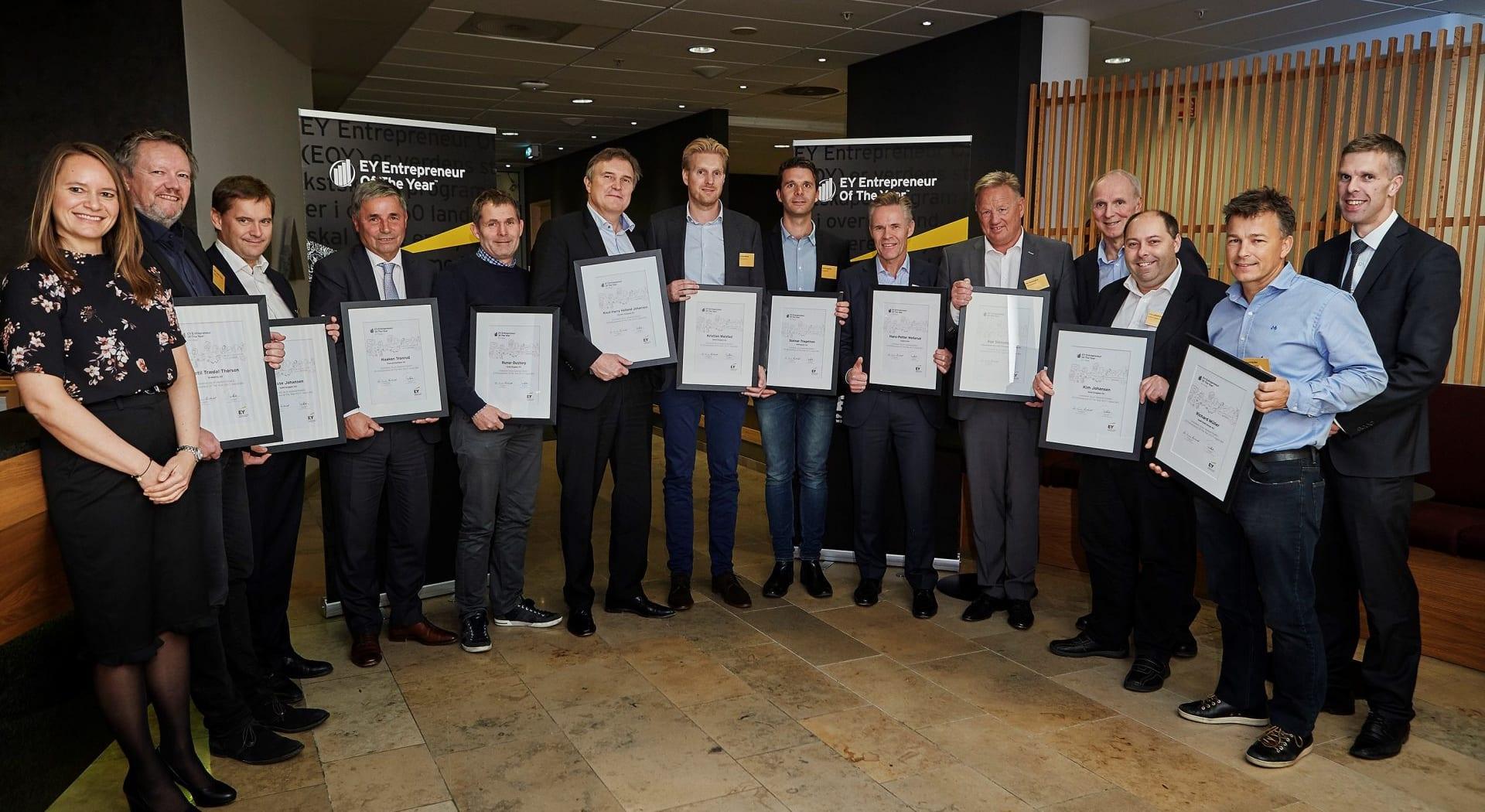 Solid nominert til EY Entrepreneur of the year