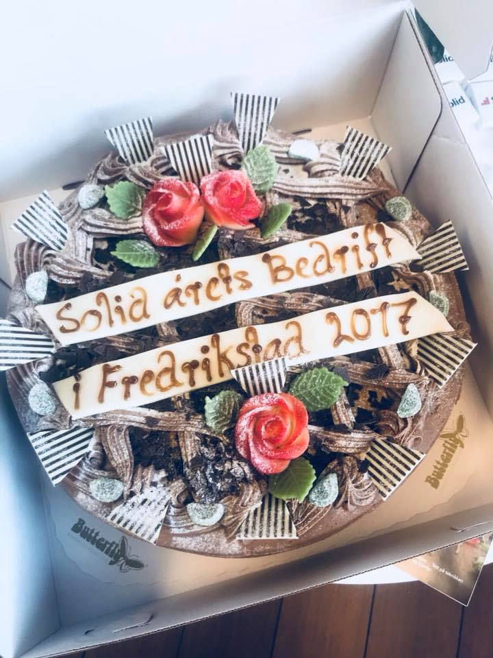 Vi ble kåret til Årets bedrift 2017 i Fredrikstad