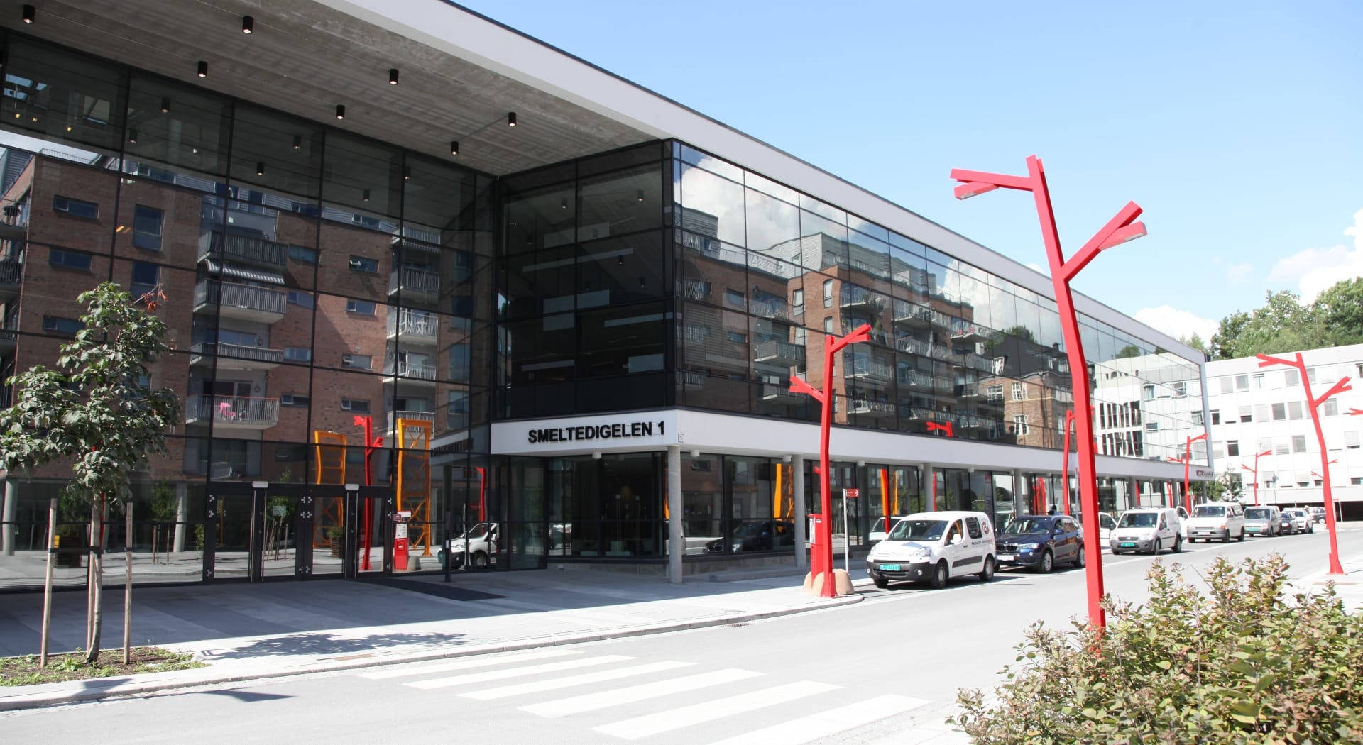 Kværnerhallen, Oslo Ks nabobygg i Kværnerbyen, hvor Amesto holder til.
