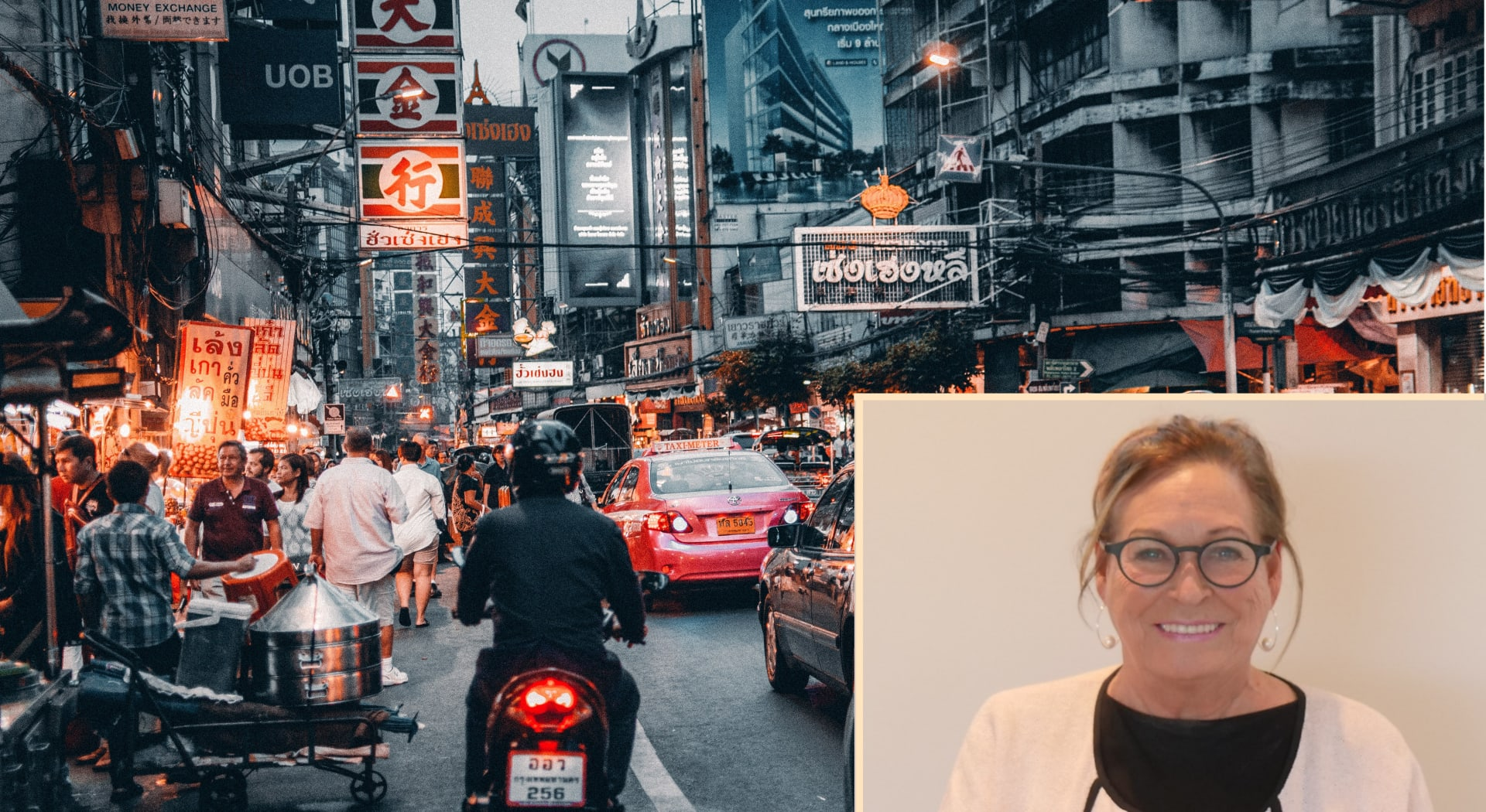 Mann ble skadet etter trafikkulykke i Thailand, og fikk erstatning med hjelp fra advokat Anne Grethe Kjelland.