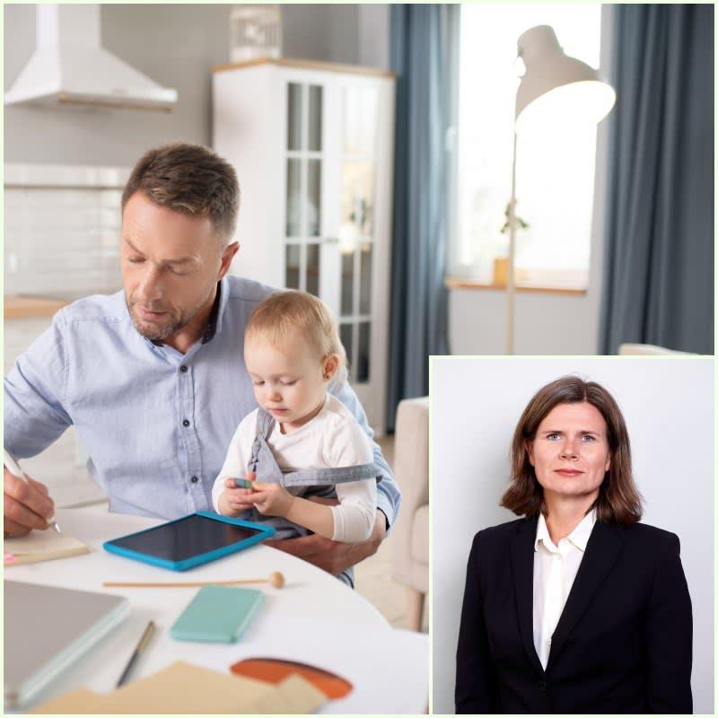 Har du yrkesskadedekning fra hjemmekontoret? Advokat Nora Løvøi Bjørnstad ser på yrkesskadedekningen.