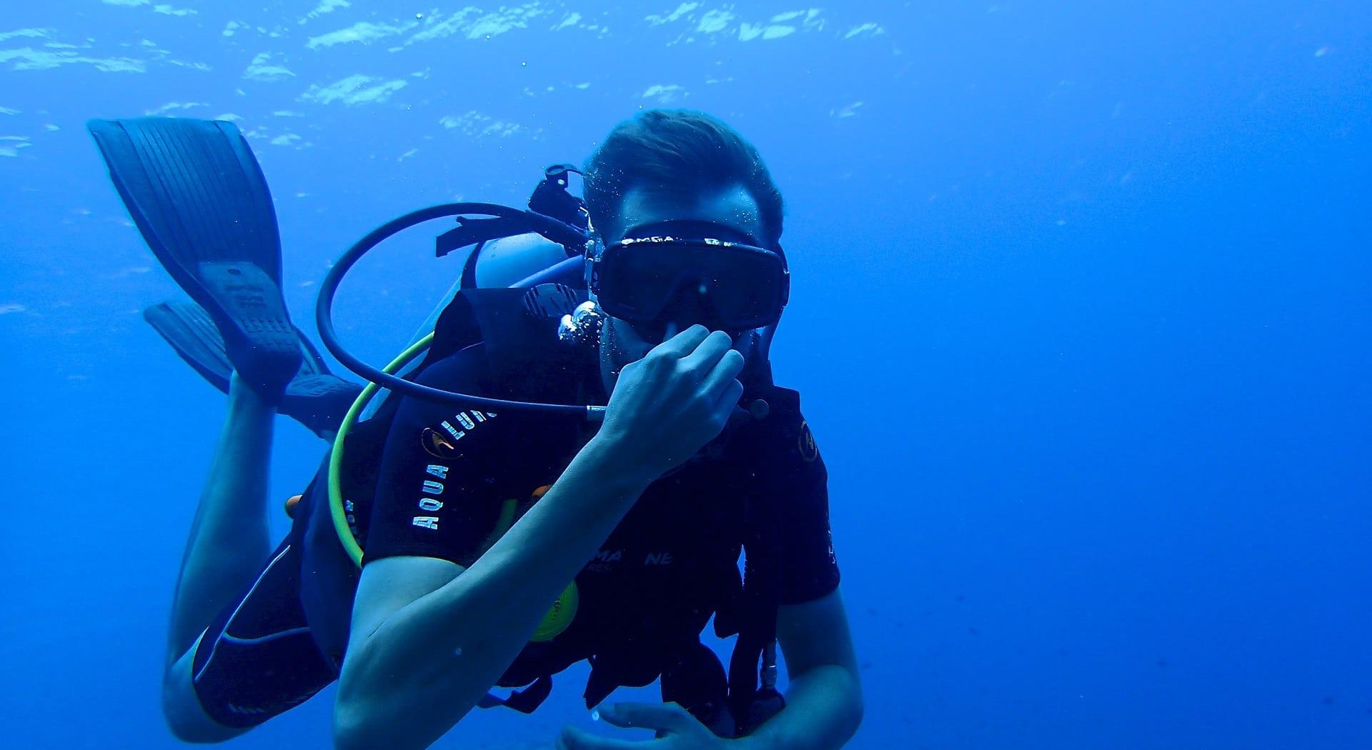 Dykkerulykke fikk fatale konsekvenser for mann på dykkerkurs.