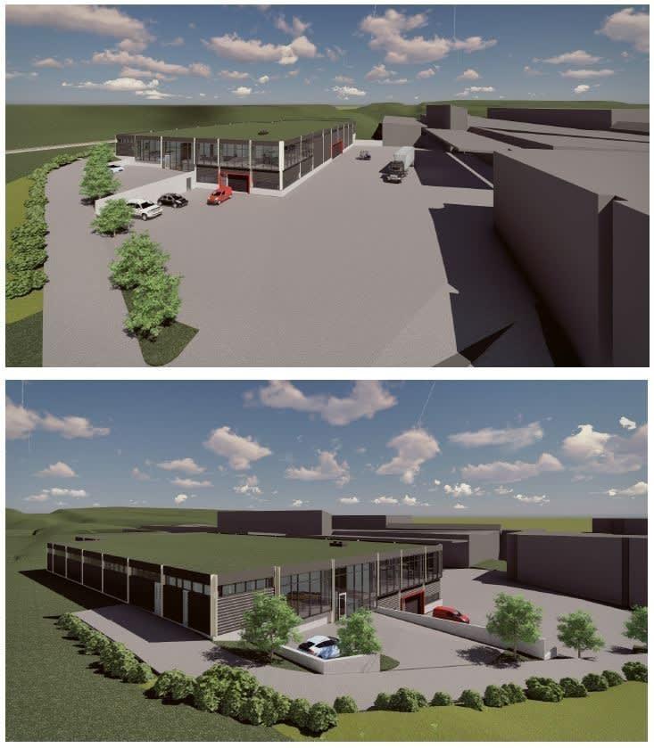 3D lager- Nytt 2019- Tilgjengelig Lagerareal er ved kjøreport bak rød kassevogn