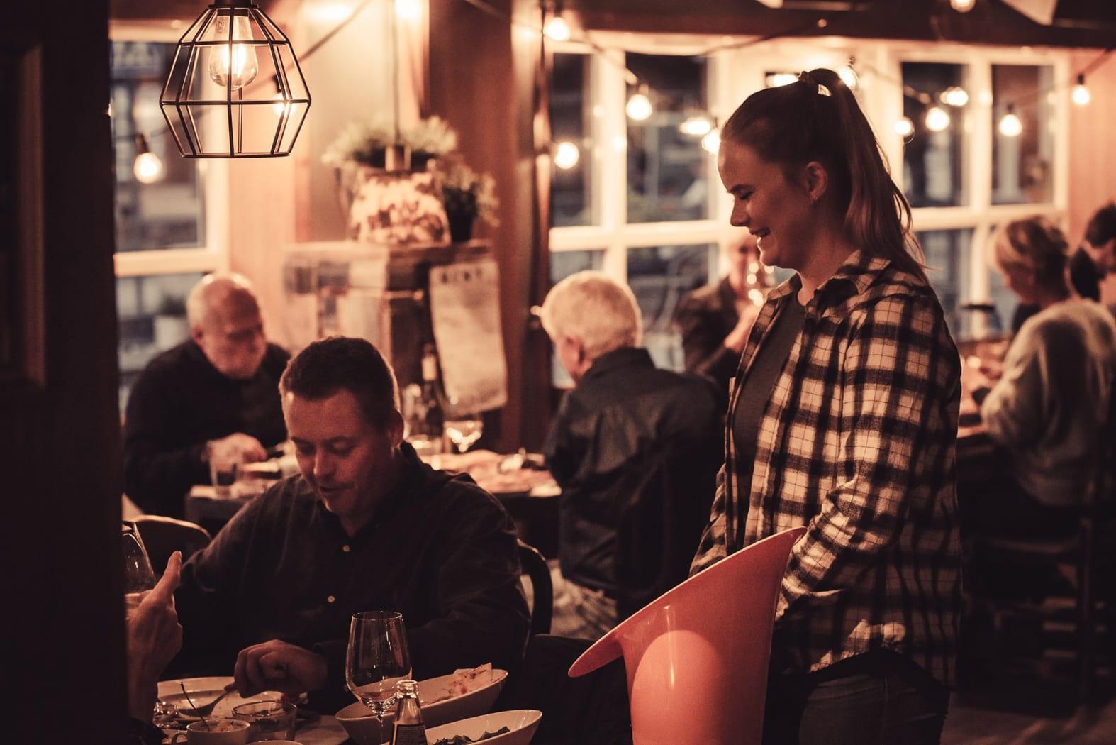 Hemsedal Café er nærmest som en institusjon å regne. Foto Žygimantas Panda Vaičaitis/Hemsedal Cafe.