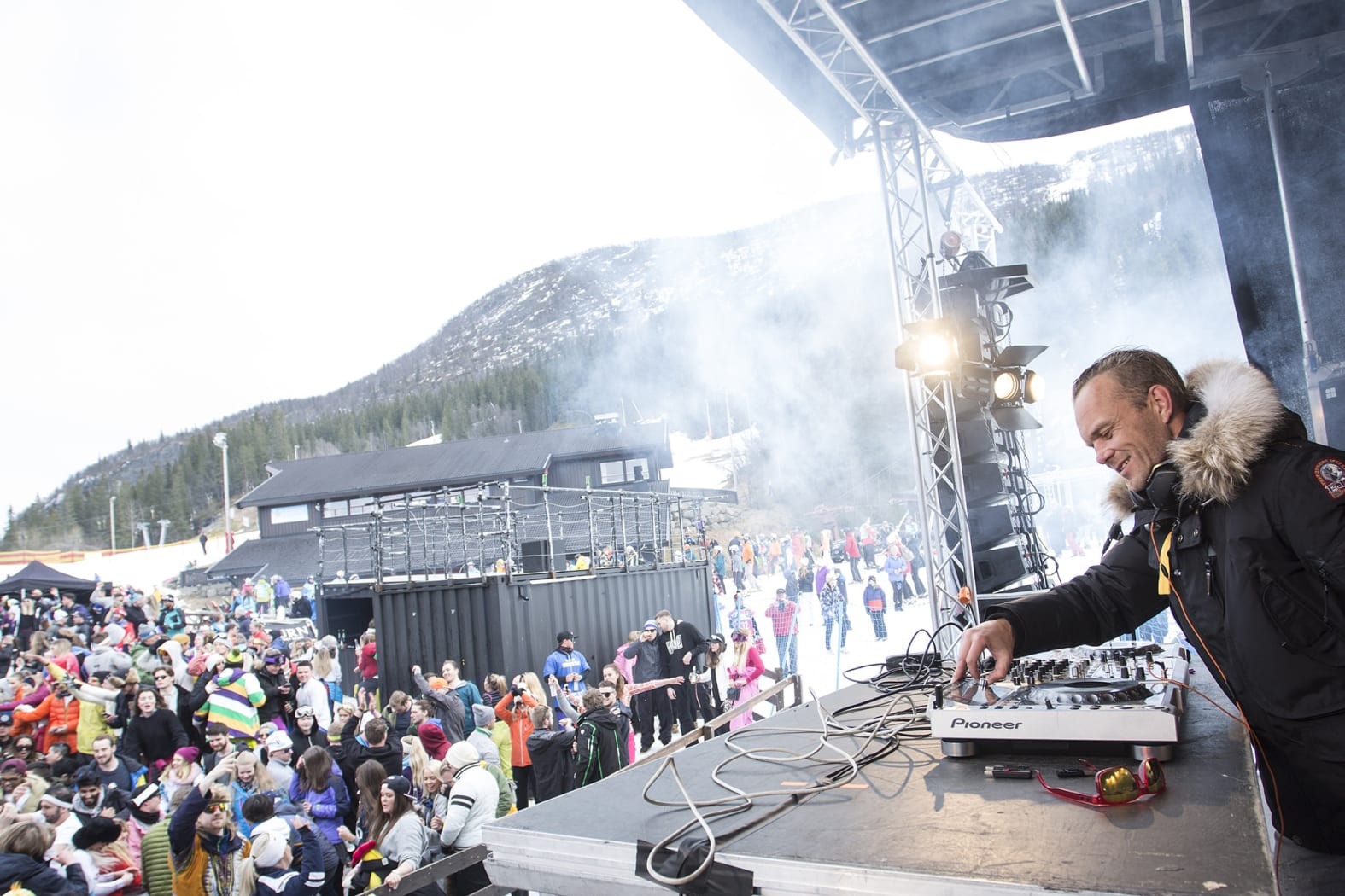 DJ's og eventer i og ved Hemsedal Skisenter. Foto Kalle Hägglund, SkiStar.