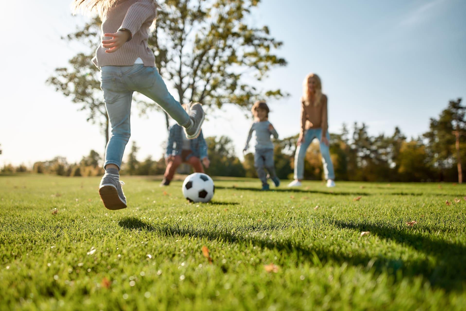 Sport og lek er lett tilgjengelig i Rolvsrud Arena