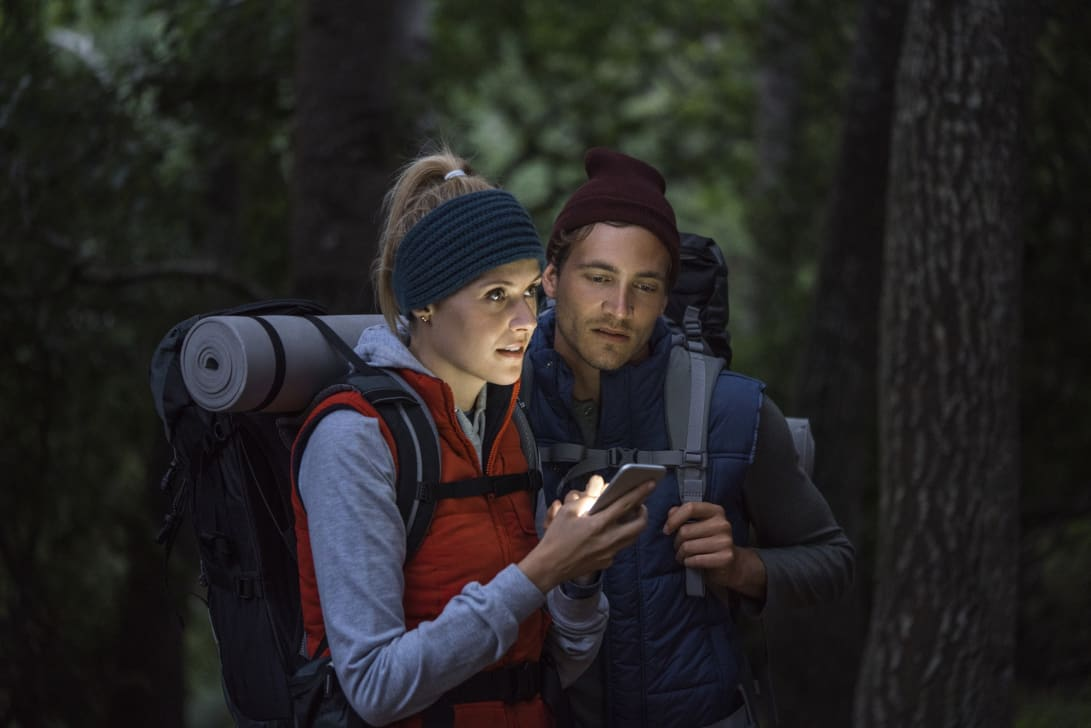 Utforsk skogen med noen du er glad i.